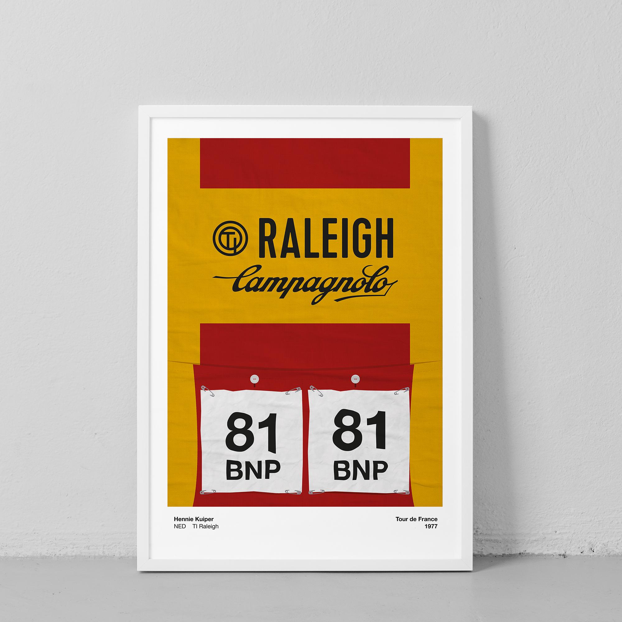 Hennie Kuiper, Raleigh